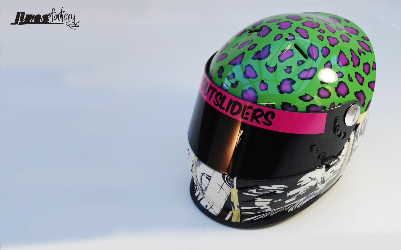 Jims Factory Painted Helmet Wallpaper