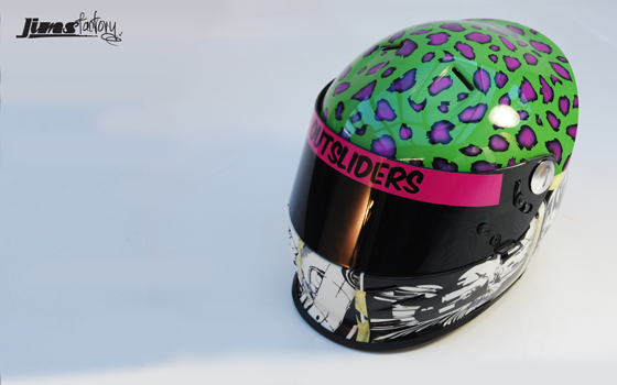 JimsFactory Custom Painted Helmet