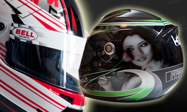 Jims Factory Custom Painted Helmet